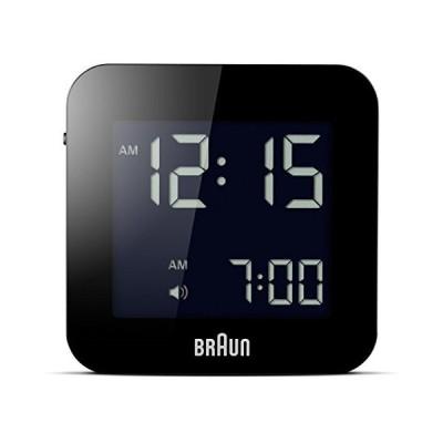 Black  Braun Digital Alarm Clock Colour