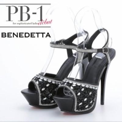PB-1SELECT シューズ系(靴) PB-1 セレクト キャバドレス ナイトドレス ブラック 黒 22.5 23.0 23.5 24.0 24.5 3394 クラブ スナック キ