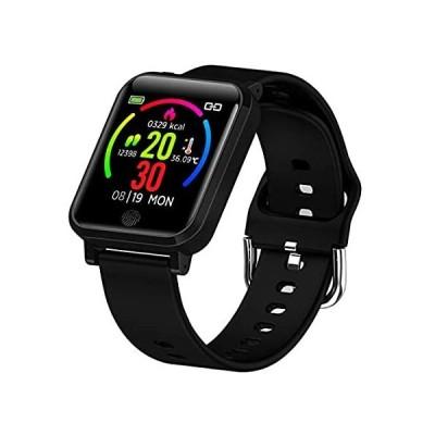 【送料無料】Smart Watch Fitness Tracker with Heart Rate Monitor Blood Pressure Oxygen M