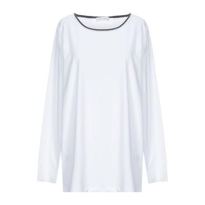 LE TRICOT PERUGIA T シャツ ホワイト XL コットン 90% / ポリウレタン 10% / バージンウール T シャツ