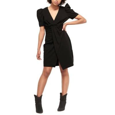 バッシュ ワンピース トップス レディース ba&sh Joplin Sheath Dress black