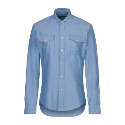 ブライアン デールズ BRIAN DALES シャツ アジュールブルー 39 コットン 100% シャツ