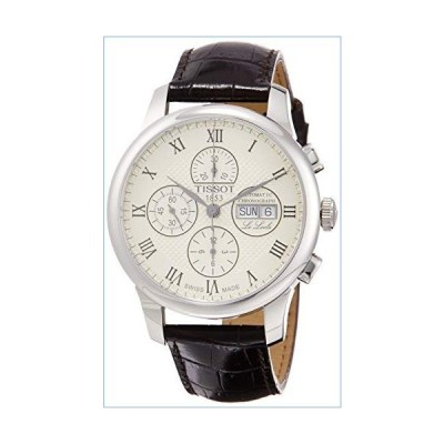 Tissot Le Locle Valjoux Chronograph Automatic Silver Dial Men's Watch T006.414.16.263.00並行輸入品