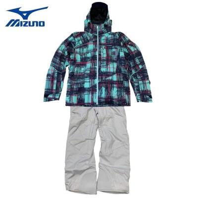 ミズノ スキーウェア 上下セット メンズ レディース ミズノ デモ チーム プリント ジャケット・パンツ Z2ME8322-Z2MF8321 スキー スノーボード 20SKIWEAR
