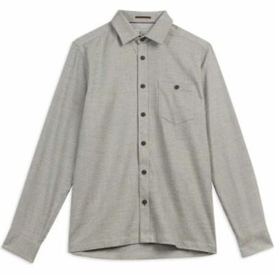 テッドベーカー Ted Baker メンズ シャツ トップス Robott Semi Plain Shirt NATURAL