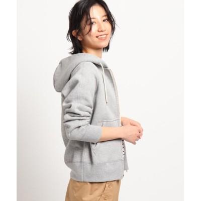 【デッサン】 吊裏毛スウェットジップフーディ レディース グレー 02(M) Dessin