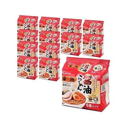 アイリスオーヤマ 豪麺 醤油らーめん 5食×12袋セット