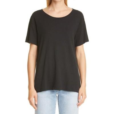 ジョン エリオット JOHN ELLIOTT レディース Tシャツ トップス Relaxed Cotton T-Shirt Black