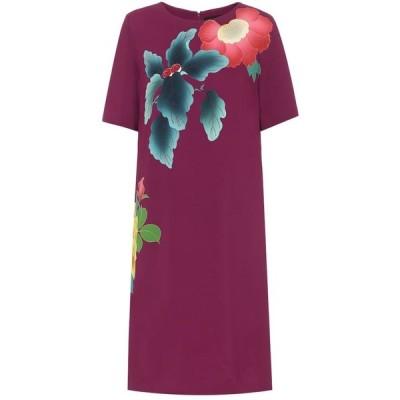エトロ Etro レディース ワンピース ワンピース・ドレス floral cotton-blend crepe dress