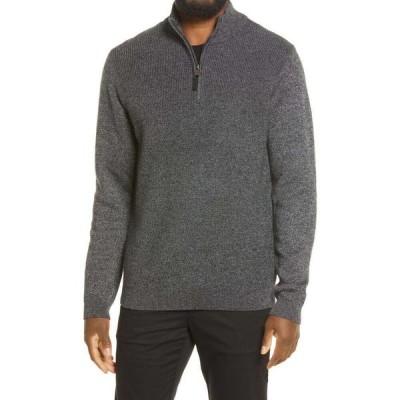 テッドベーカー TED BAKER LONDON メンズ ニット・セーター トップス Nitchip Half Zip Sweater Grey