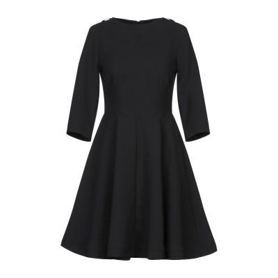 カオス KAOS ミニワンピース&ドレス ブラック 42 ポリエステル 100% ミニワンピース&ドレス