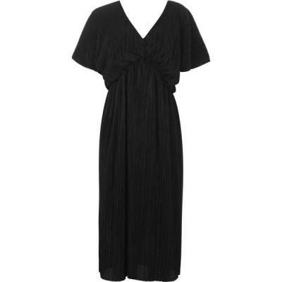 ビバ Biba レディース パーティードレス ワンピース・ドレス Plisse Dress Black