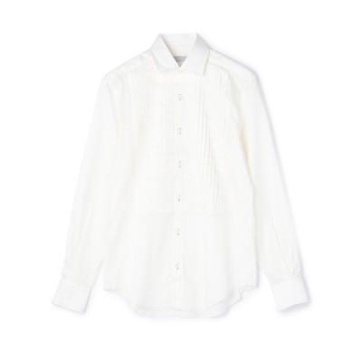 シャツ ブラウス ESTNATION / プリーテッドブザムシャツ