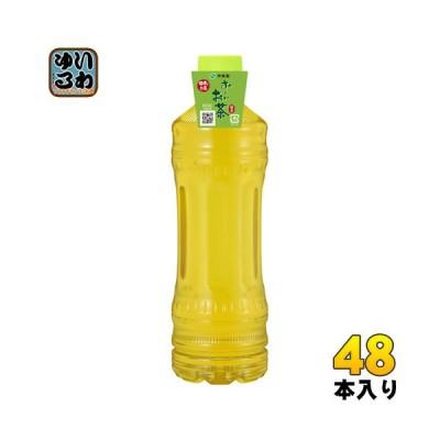 伊藤園 お〜いお茶 緑茶 ラベルレス 525ml ペットボトル 48本 (24本入×2 まとめ買い)