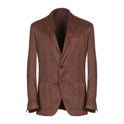 アルテア ALTEA テーラードジャケット ブラウン 54 麻 65% / コットン 34% / ポリウレタン 1% テーラードジャケット