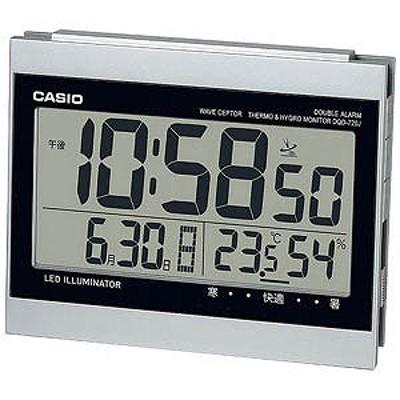 CASIO 目覚まし時計 DQD‐720J‐8JF (シルバー)