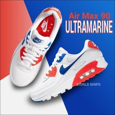 エアマックス90 メンズ ナイキ スニーカー レディース Nike Air Max 90 Wmns Air Max 90 ホワイト レーサーブルー フラッシュク リムゾン 海外限定