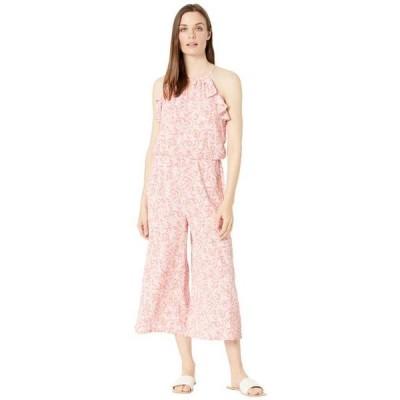 ロンドンタイムス レディース ファッション小物 ロンパース Floating Paisley Printed Jumpsuit