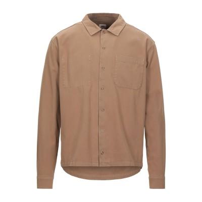 SCOUT シャツ キャメル S コットン 100% シャツ