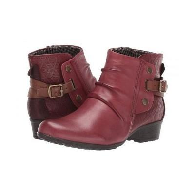 Cobb Hill コッブヒル レディース 女性用 シューズ 靴 ブーツ アンクルブーツ ショート Gratasha Hardware Boot - Red
