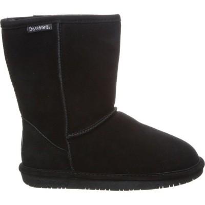ベアパウ ブーツ&レインブーツ シューズ レディース BEARPAW Women's Eva Short NeverWet Sheepskin Boots Black