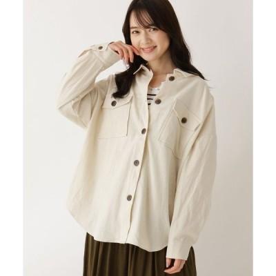 シャツ ブラウス 【M-LL】CPOコットン(綿)シャツ