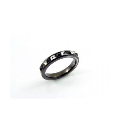 『KR-277 NW-3×3スクエアスタッズカット リング』(10-15営業日前後で出荷、割引サービス対象外)誕生日 プレゼント メンズ レディース アクセサリー 指輪 リン