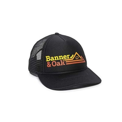Banner and Oak HAT メンズ US サイズ: One Size Fits Most カラー: ブラック