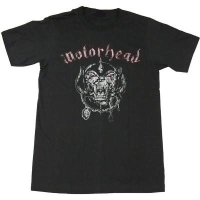 ヴィンテージ風Tシャツ MOTORHEAD モーターヘッド ウォー・ピッグ プリントTシャツ ブラック 男女兼用