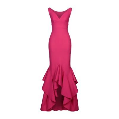 CHIARA BONI LA PETITE ROBE 7分丈ワンピース・ドレス フューシャ 40 ナイロン 72% / ポリウレタン 28% 7分丈