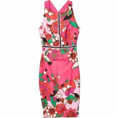 テッドベーカー Ted Baker レディース ボディコンドレス ワンピース・ドレス Marloww Pinata Buckle Detail Bodycon Dress Pink