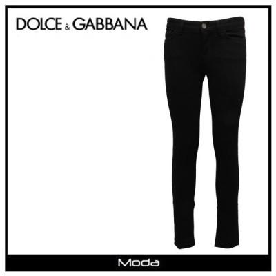 ドルチェ&ガッバーナ パンツ レディース Dolce&Gabbana 黒 ブラック デニム