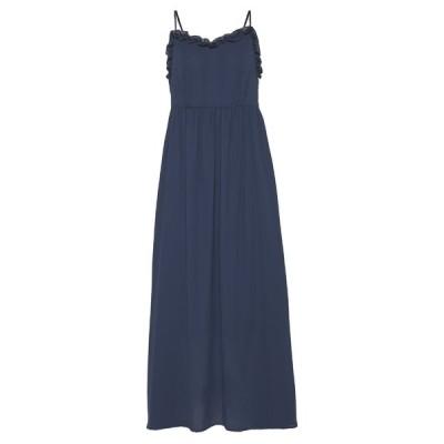 セレクテッドフェム ワンピース レディース トップス SLFRAYA ANKLE STRAP DRESS - Day dress - dark sapphire