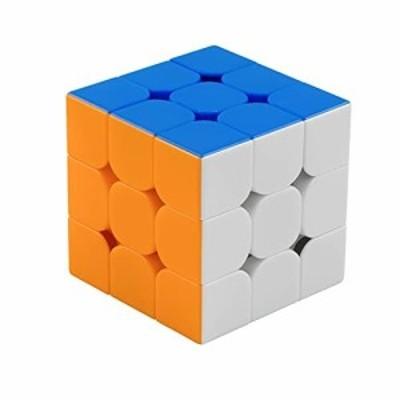 (2020最新) 魔方 3x3 競技用 立体パズル ポップ防止 知育玩具(マルチカラー 標準版) 対象年齢6歳以上