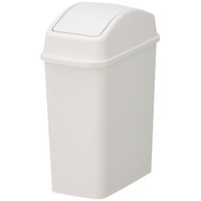 リスリス スイングペール 5.2L ゴミ箱 グレー 1個