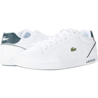 ラコステ Lacoste レディース シューズ・靴 Graduate Cap 0120 1 SFA White/Dark Green