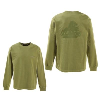 エクストララ-ジウェアPIGMENT OLD OG 長袖Tシャツ 101211011017 GRNグリーン