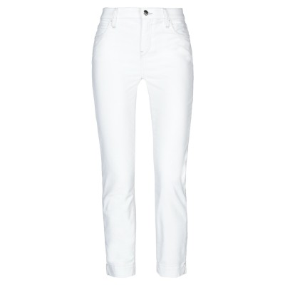 KAOS JEANS カプリパンツ ホワイト 26 コットン 98% / ポリウレタン 2% カプリパンツ