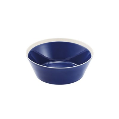 dishes bowl L ink blue