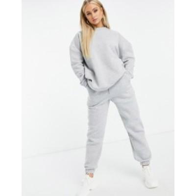 エイソス レディース パーカー・スウェット アウター ASOS DESIGN Hourglass tracksuit oversized sweatshirt / oversized sweatpants in