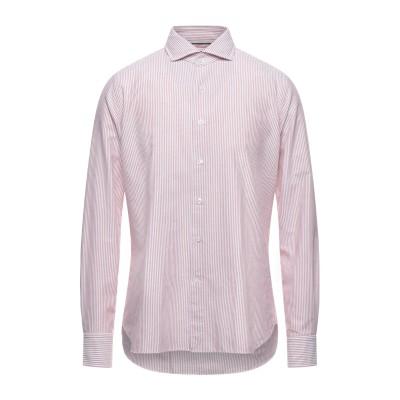 ORIAN シャツ ボルドー 40 コットン 100% シャツ