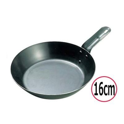 フライパン nakao/中尾アルミ製作所 キング 鉄 オーブンレンジ用フライパン 16cm IH対応
