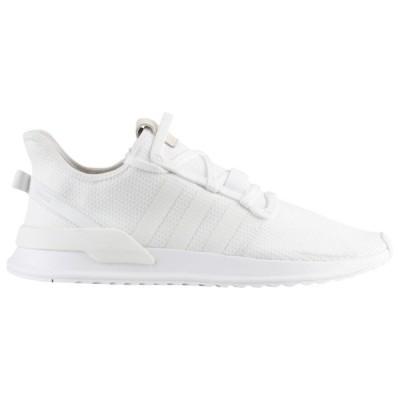 アディダスオリジナルス スニーカー メンズ シューズ U_Path Run White/White/Black