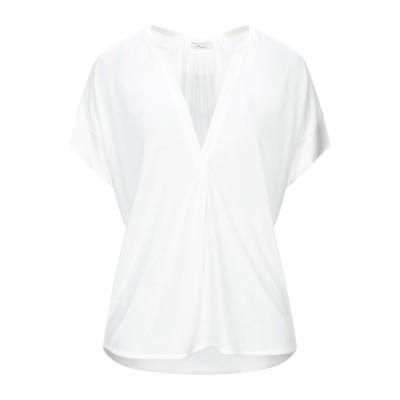 I HEART T シャツ ホワイト S テンセル 100% / シルク / ポリウレタン T シャツ