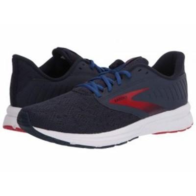 Brooks ブルックス メンズ 男性用 シューズ 靴 スニーカー 運動靴 Signal 2 Navy/Mazarine/Lava【送料無料】