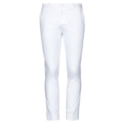 OBVIOUS BASIC パンツ ホワイト 46 コットン 97% / ポリウレタン 3% パンツ