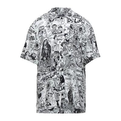ドルチェ & ガッバーナ DOLCE & GABBANA シャツ ホワイト 41 レーヨン 100% シャツ