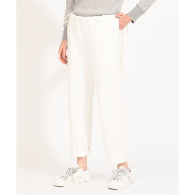 maturely / Side Cord Jersey Pants