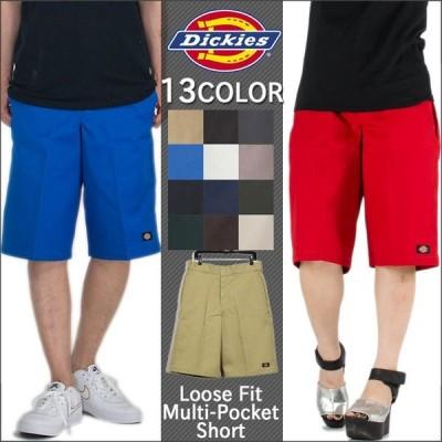 ディッキーズ Dickies ハーフパンツ ボトムス 42283 13インチ ワーク ショーツ ルーズ フィット マルチ ポケット メンズ (42283)