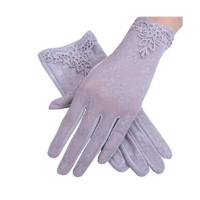 レディース 手袋 タッチパネル 運転グローブ uvカット1組 日焼け止め 手荒い 保湿 夏 荒れ対策 紫外線対策 UV手袋 滑止め付 お嫁手